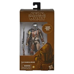 Star Wars The Mandalorian Black Series Carbonized figurine The Mandalorian 15 cm Hasbro Toute la gamme Black Series