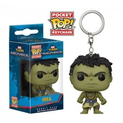 Thor Ragnarok porte-clés Pocket POP! Vinyl Casual Hulk 4 cm Funko Tout L'univers Marvel