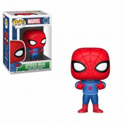 Marvel Comics POP! Marvel Holiday Vinyl Bobble Head Spider-Man (Ugly Sweater) 9 cm