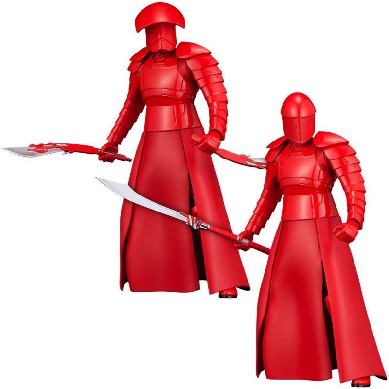 Star Wars Episode VIII pack 2 statuettes PVC ARTFX+ Elite Praetorian Guards 19 cm