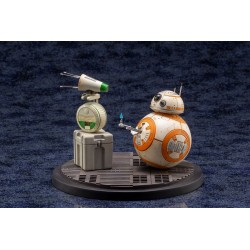 Star Wars Episode IX pack 2 statuettes 1/7 PVC ARTFX+ D-O & BB-8 13 cm