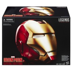"Iron Man Casque ""Helmet"" Marvel Legends Hasbro Tout L'univers Marvel"