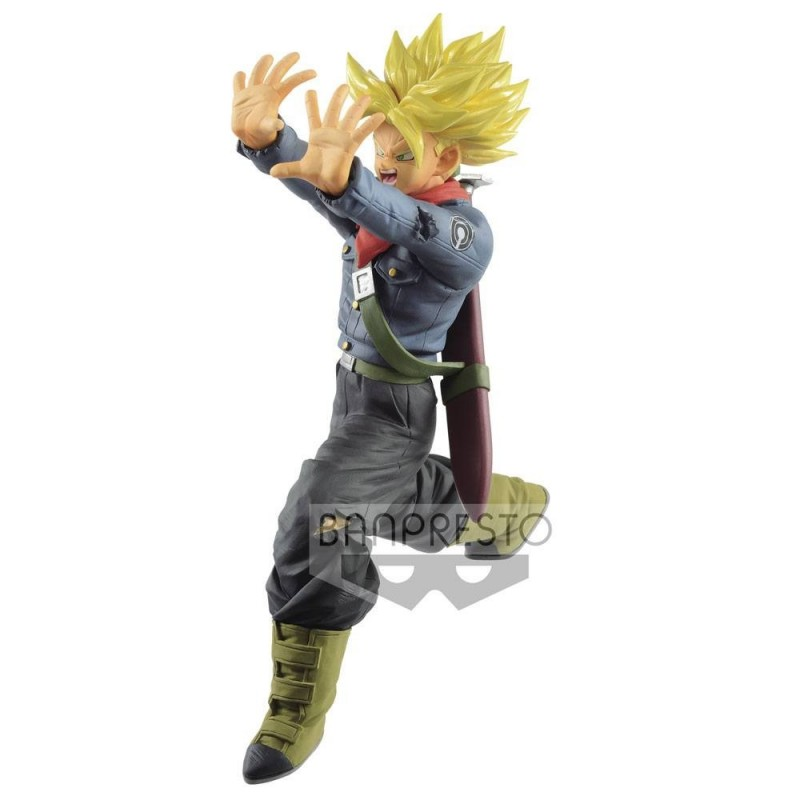 Dragon Ball Super statuette PVC Super Saiyan Trunks Future Galick Gun 17 cm