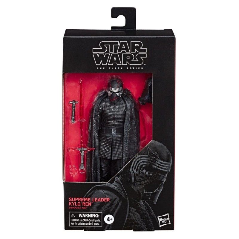 "Figurine Star Wars Black Series 6"" Supreme Leader Kylo Ren  Hasbro Pré-commandes"