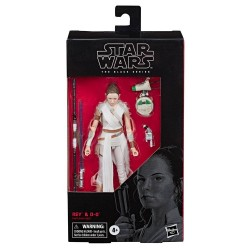 "Figurine Star Wars Black Series 6"" Rey & D-O  Hasbro Pré-commandes"