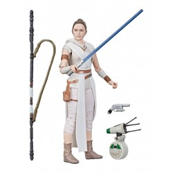 "Figurine Star Wars Black Series 6"" Rey & D-O  Hasbro Pré-commandes"
