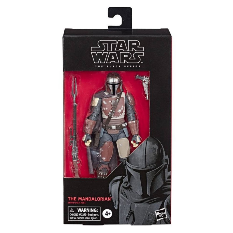 "Figurine Star Wars Black Series 6"" The Mandalorian Hasbro Triple Force Friday"