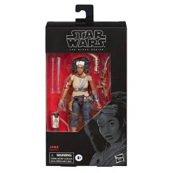 "Figurine Star Wars Black Series 6"" Jana  Hasbro Triple Force Friday"