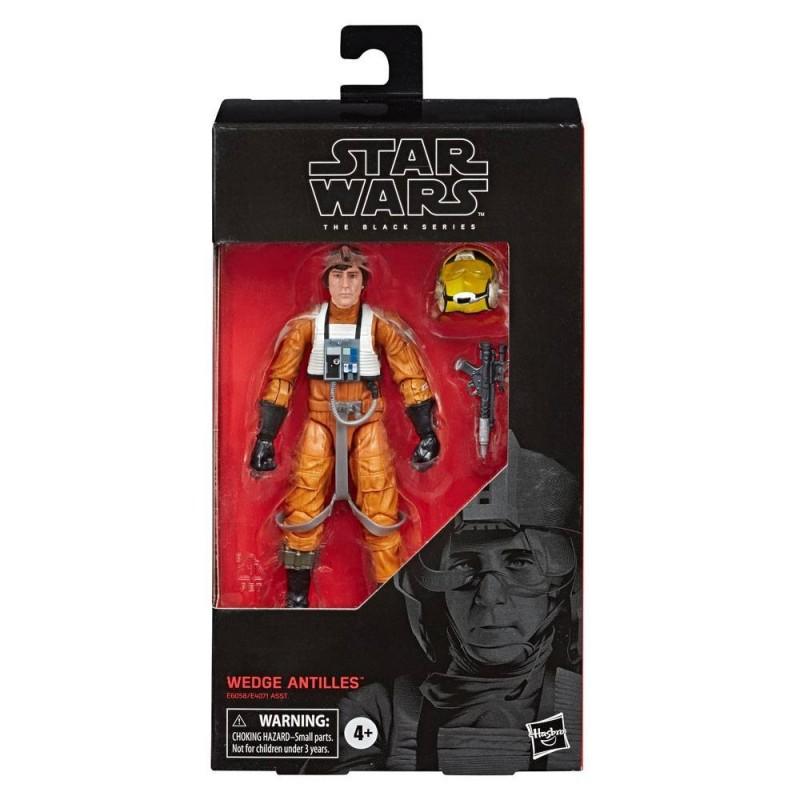 "Figurine Star Wars Black Series 6"" Wedge Antilles Pilote X-wing Hasbro Triple Force Friday"