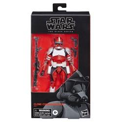Star Wars The Clone Wars Black Series figurine Clone Commander Fox Exclusive 15 cm Hasbro Pré-commandes