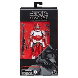 Star Wars The Clone Wars Black Series figurine Clone Commander Fox Exclusive 15 cm Hasbro Pré-commandes