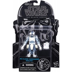 Figurine Star Wars Black Series 10 cm Clone Commander Wolffe