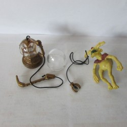 Star Wars Vintage1983 H.K. Kenner  -  Pipe & Accessoires & Salacious Crumb Bagger Jabba Playset
