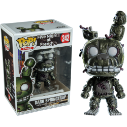 Five Nights at Freddy's POP! Games Vinyl Dark Springtrap Exclusive