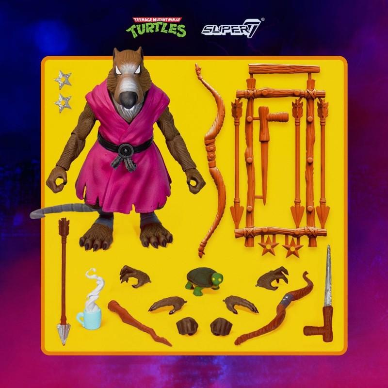 Les Tortues ninja figurine Ultimates Splinter 18 cm