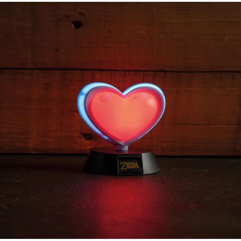 Legend of Zelda veilleuse 3D Heart Container 10 cm