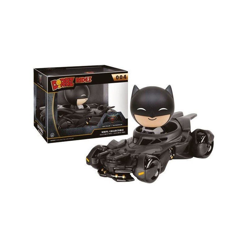 Batman v Superman POP! Ridez Vinyl Véhicule avec figurine Dorbz Batmobile 14 cm