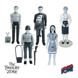 Twilight Zone assortiment figurines Retro 10 cm F
