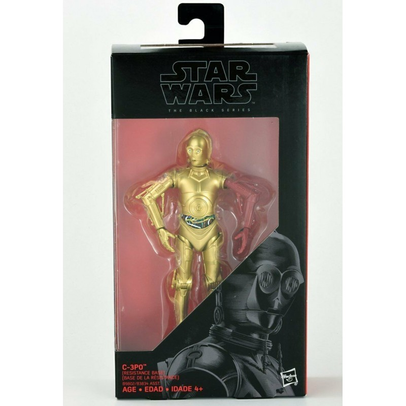 Figurine Star Wars Black Series 15 cm C3-PO