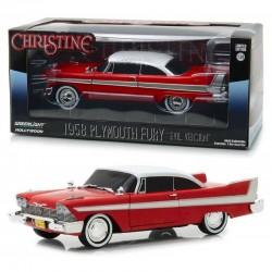 Voiture 1/24 Christine Playmouth Fury 1958 Evil Version
