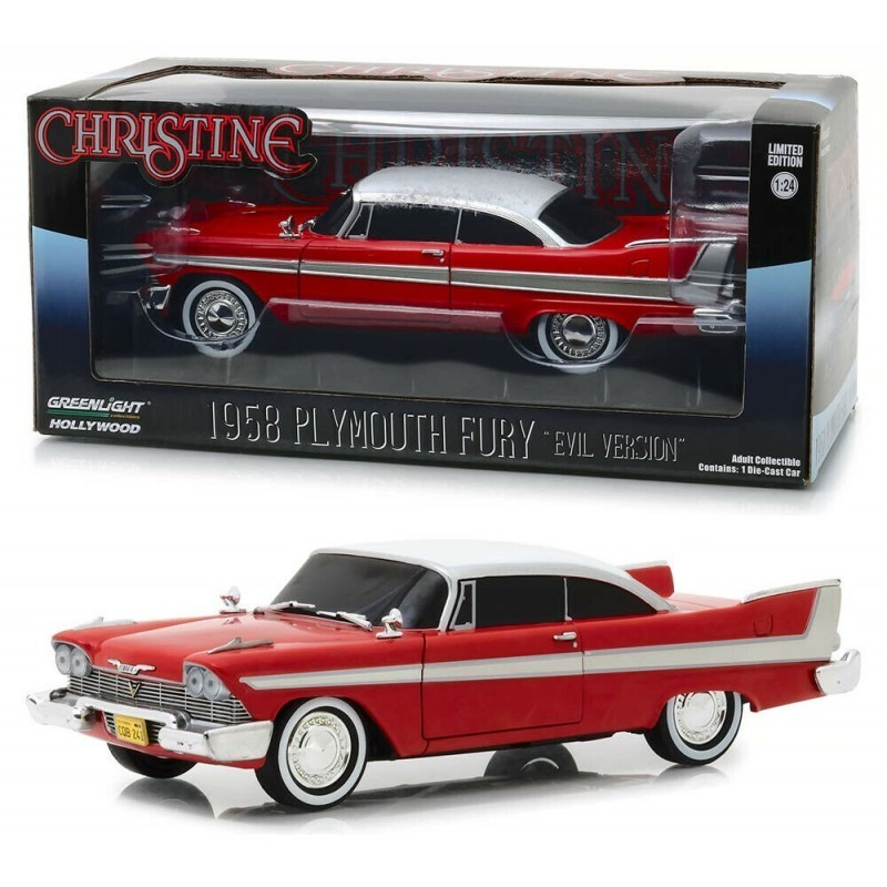 Voiture 1/24 Christine Playmouth Fury 1958 Evil Version