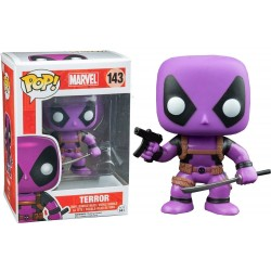 Marvel Comics POP! Vinyl Bobble Head Deadpool Terror 9 cm