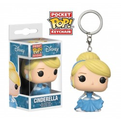 Disney Princesses porte-clés Pocket POP! Vinyl Cinderella 4 cm