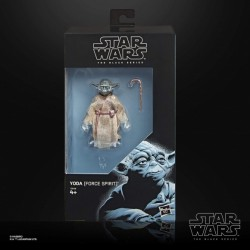 "Figurine Star Wars Black Series 6"" Yoda Spirit Exclusive"