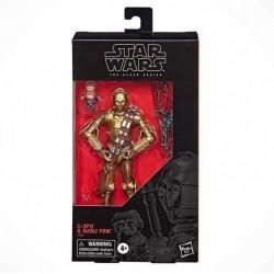 "Figurine Star Wars Black Series 6"" C3-PO & Babu Frik Exclusive"