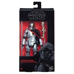 Star Wars Episode VIII Black Series figurine 2019 Captain Phasma (Quicksilver Baton) 15 cm