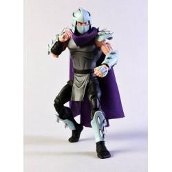 Les Tortues ninja pack 2 figurines Shredder vs Krang in Bubble Walker 18 cm