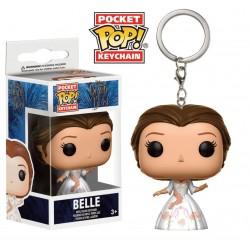 La Belle et la Bête porte-clés Pocket POP! Vinyl Celebration Belle 4 cm
