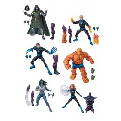 Marvel Legends Series Fantastic Four 2020 Wave 1 assortiment figurines 15 cm