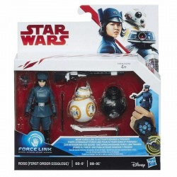 Star Wars Set Mission Rose , BB-8 & BB-9E 10 cm