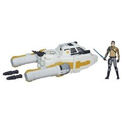 Star Wars Vaisseaux Y-wing Scout Bomber & Kanan Jarrus