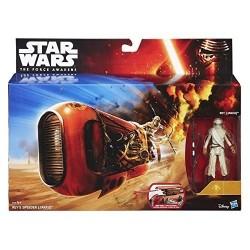 Star Wars Rey's Speeder Jakku & Rey