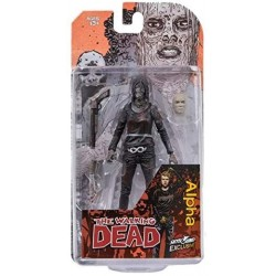 The Walking Dead Figurine Comics Alpha Bloody 13 cm