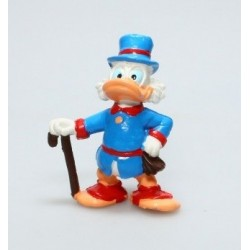 Figurine Bullyland Disney  Picsou En costume bleu