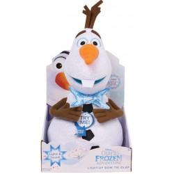 Frozen Peluche Olaf 30 cm Avec effet sonore et lumineux  Tout Disney