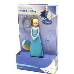 Frozen Porte clés Lumineux Elsa 8 cm