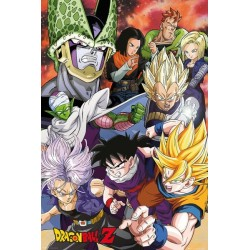 Dragon Ball Z pack posters Cell Saga 61 x 91 cm
