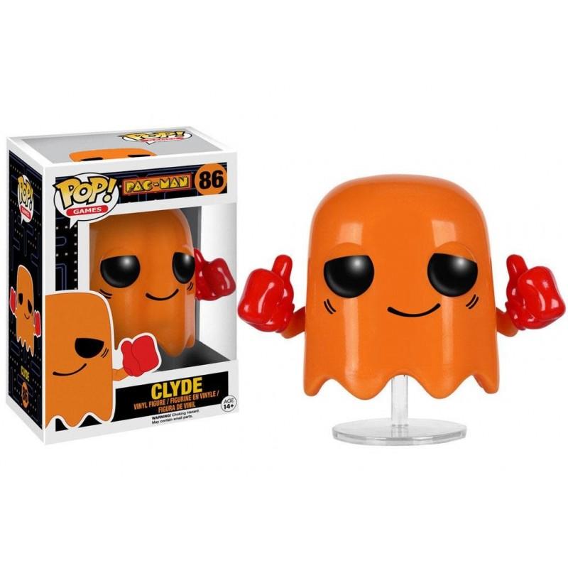 Pac-Man POP! Games Vinyl Figurine Clyde 8 cm