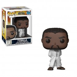 Black Panther POP! Vinyl Bobble Head Black Panther T'Challa Robe (White) 9 cm