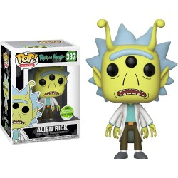 Rick et Morty Figurine POP! Animation Vinyl Alien Rick 9 cm Funko Rick & Morty