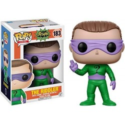 DC Comics POP! Vinyl figurine The Riddler 9 cm Funko Tout L'univers Dc Comics