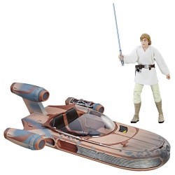 Star Wars Black Series 6-inch véhicule 2017 Luke Skywalker's X-34 Landspeeder