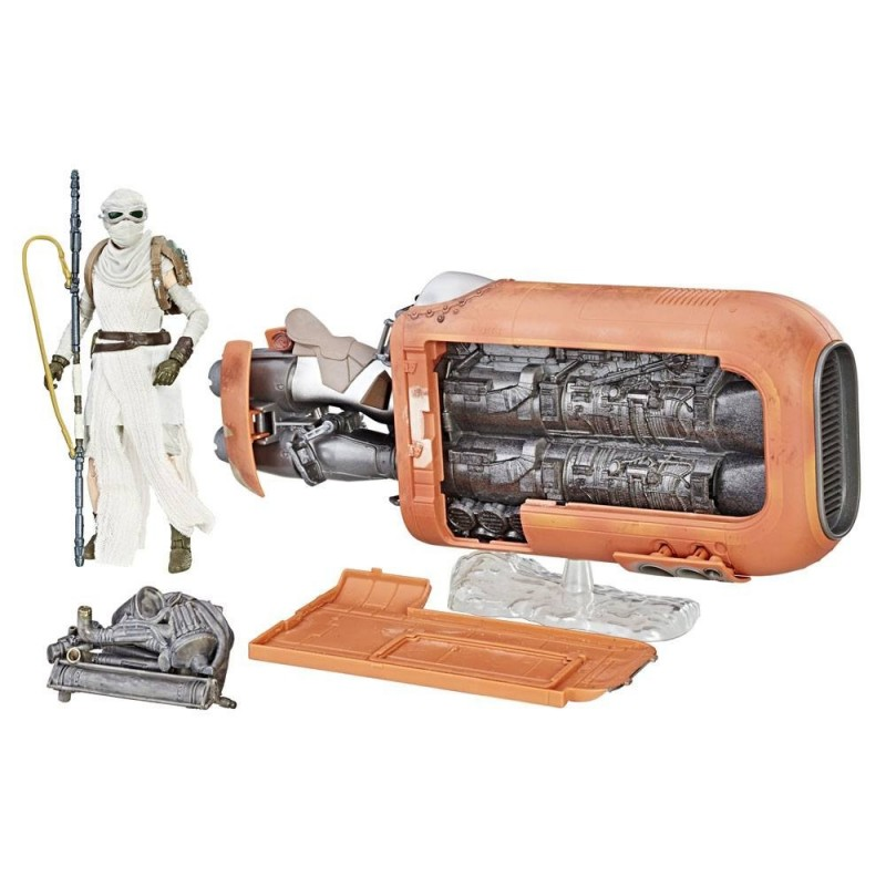 Star Wars Black Series 6-inch véhicule 2017 Rey's Speeder (Jakku)