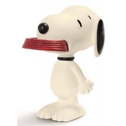 Figurine Schleich Snoopy 5 cm 22002 Snoopy & sa Gamelle