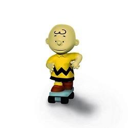 Figurine Schleich Snoopy 5 cm 22076 Charlie Brown Avec Skate