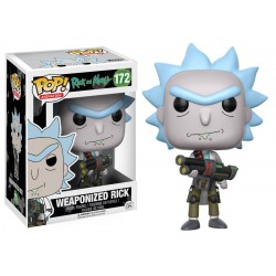 Rick & Morty Figurine Funko Pop Weaponized Rick
